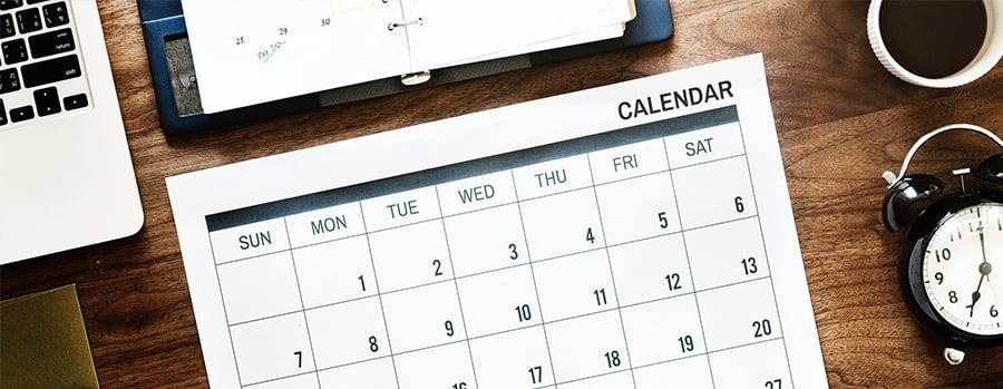 Winter 2019 HR Compliance Calendar